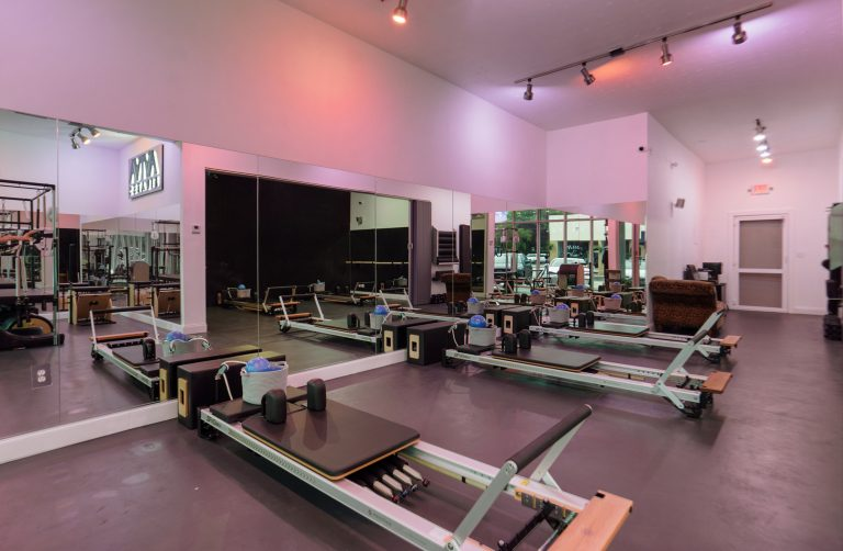 Pilates Reformers Room